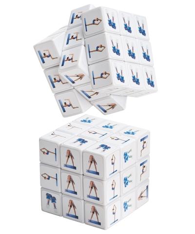 Gymnastics Puzzle Cube