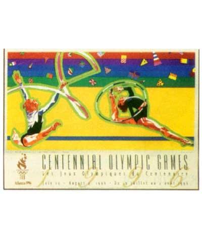 Rhythmic Olympic Print