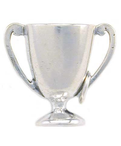 Cheerleader Trophy Charm FREE SHIPPING