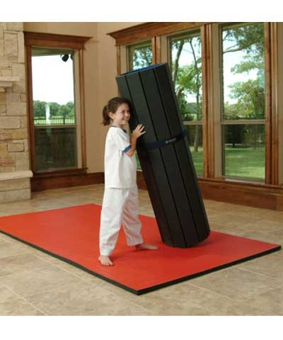 Home Tatami Flexi Roll Martial Arts Mat 5'x10'