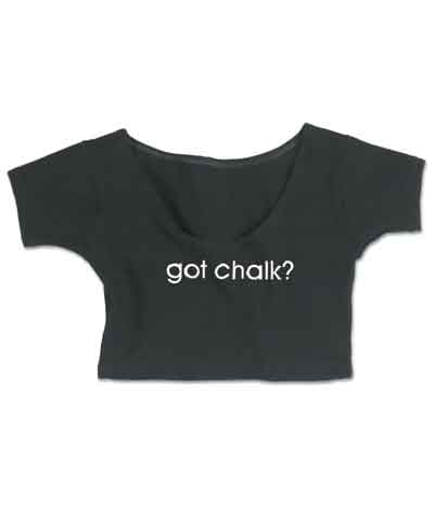 Got Chalk Baby Doll Crop Top