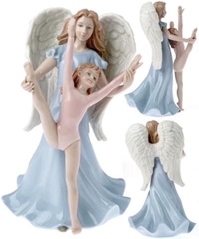Angel Gymnast or Dancer Porcelain