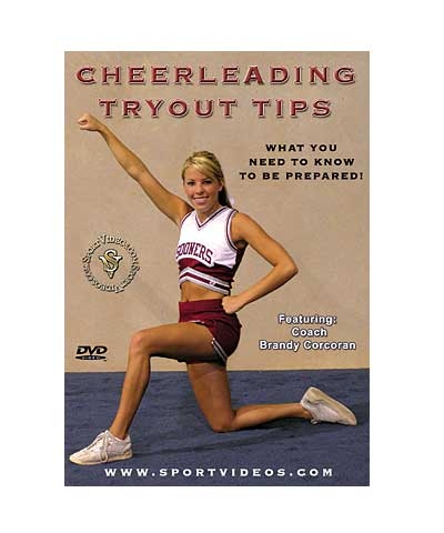 Cheerleading Tryout Tips DVD