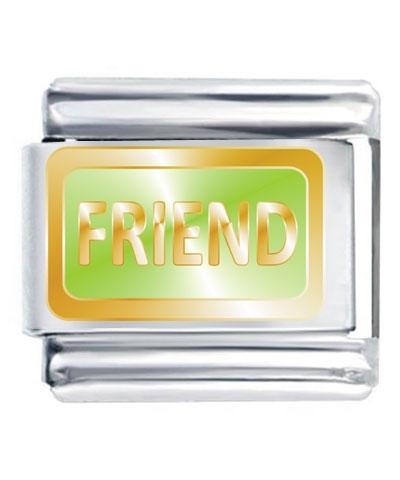 Flex Link - Friend (Lime Green)