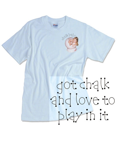 Chalk Baby Tee FREE SHIPPING