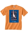 Tangerine Like A Girl Bars Tee