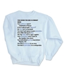 10 Reasons Sweatshirt - Version 2.0 FREE SHIPPING