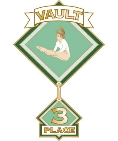 Vault 3rd Place Pin
