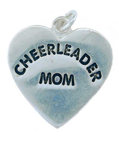 Cheerleader Mom Charm FREE SHIPPING