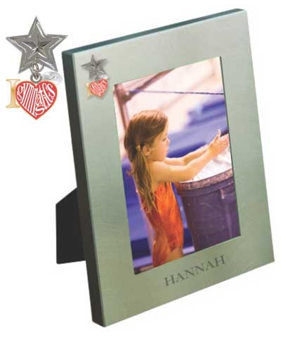 "Engraved Satin Picture Frame 4""x6"""