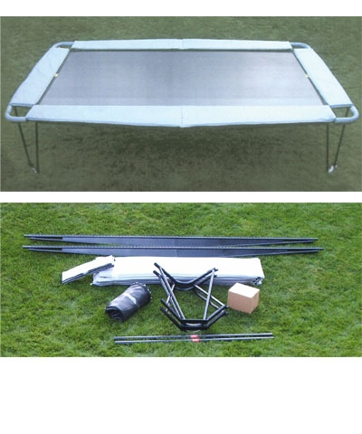 6x12 Nonfold  Trampoline with Full Frame Pads