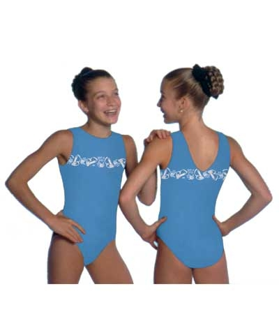 Get A Grip Bar Design Leotard