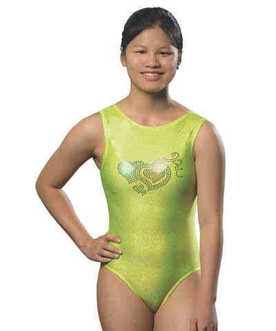 Adult Lime Sparkle Leo