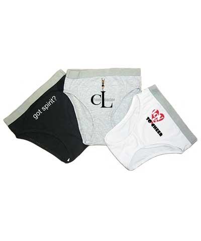 Cheer Tumblewear French Cut Bikini (Set of 3)