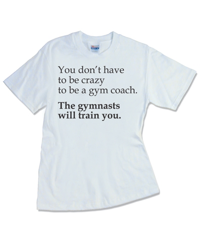 Crazy Coach White Tee