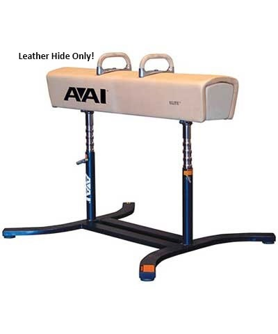AAI® Replacement Elite Pommel Horse Leather Hide Only