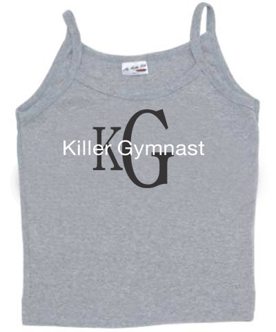 Ash Killer Gymnast Spaghetti Strap Top