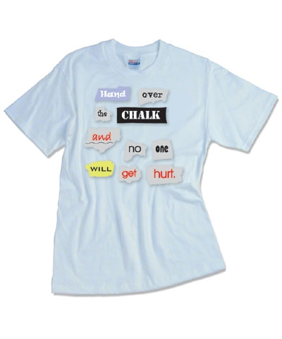 Hand Over The Chalk Tee FREE SHIPPING