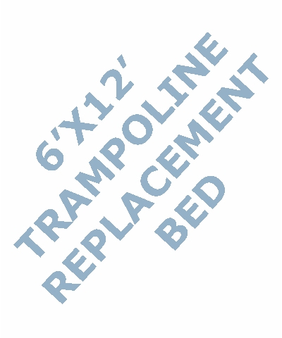 6x12 Tramp Replacement Bed