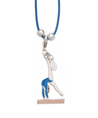 Beam Walkover Charm & Cord Necklace