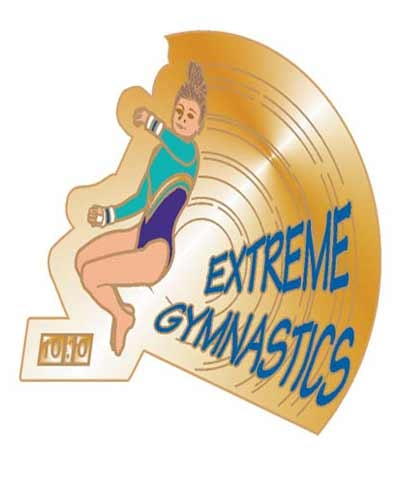 Extreme Gymnastics Pin