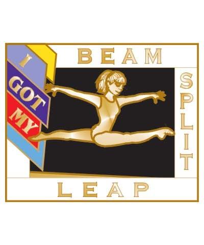 I Got My Split Leap Beam Pin