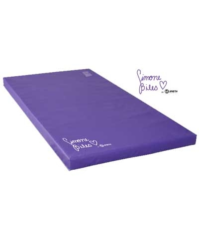 "Simone Biles 4'x8'x4"" Purple Training Mat"