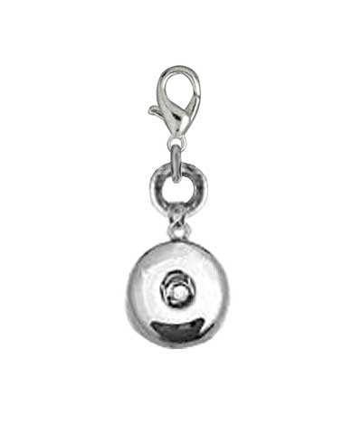 Snap Button Holder with clasp (charm sold separate)