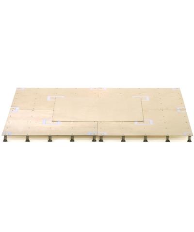 48'X48' Baltic Birch Flex Spring Floor