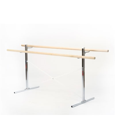 6 Ft Free Standing Ballet Barre 2 Bars FREE SHIPPING
