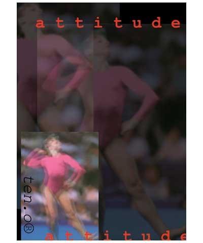 Gymnastics Attitude Poster