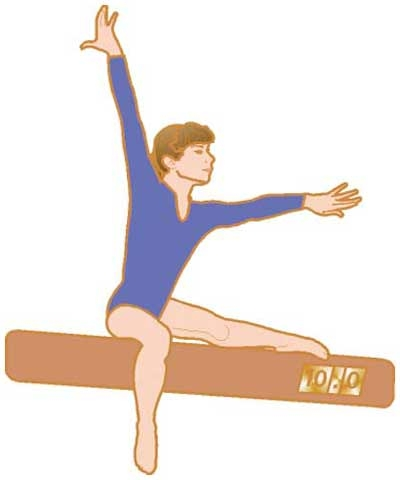 Seated Beam Pose