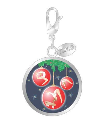 Trio Gymnastics Ball Charm