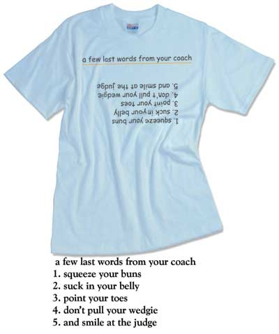 A Last Few Words From Your Coach Tee FREE SHIPPING