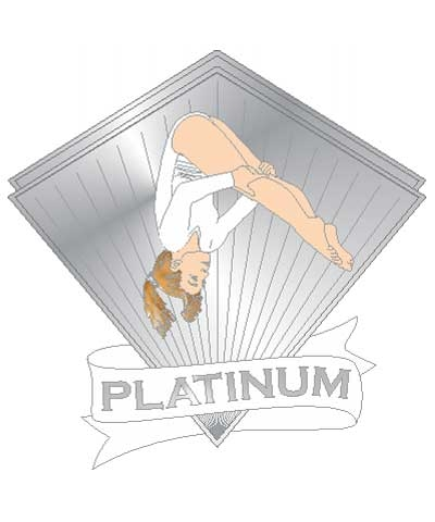 Xcel Platinum Pike Pin