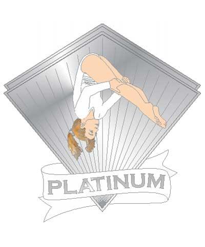Xcel Platinum Pike Pin