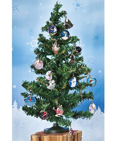 Christmas Tree with Retro Xmas Charm Set
