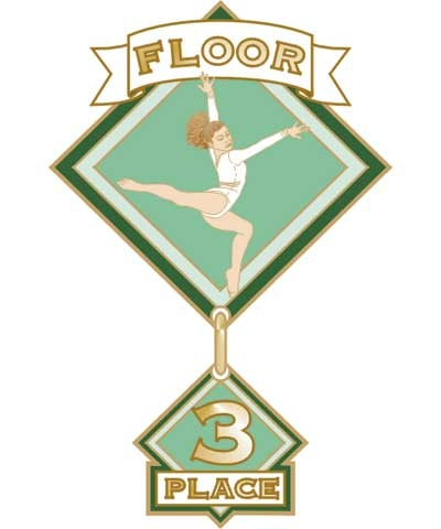 Floor 3rd Place Pin