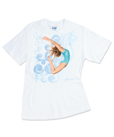 Gymnast Can Fly Tee FREE SHIPPING