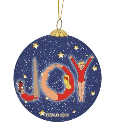 Joy To Gymnastics Christmas Ball