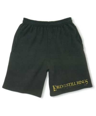 Lord Of The Still Rings Boys Workout Shorts