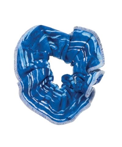 Scrunchie Blue Batic
