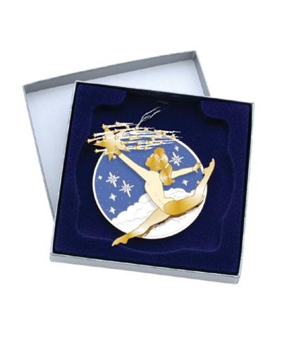 """Stag Split"" Christmas Ornament"