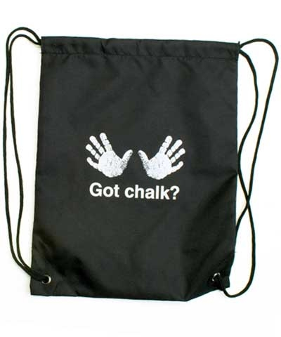 Got Chalk Grip Bag Back Pack FREE SHIPPING
