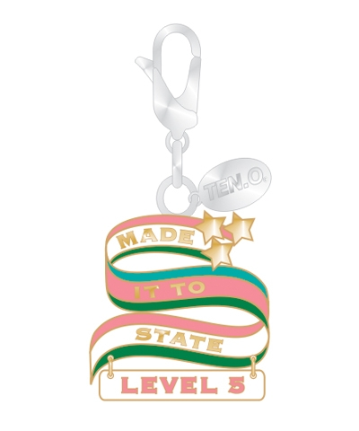 Gym Charm - Made It To State Level 5