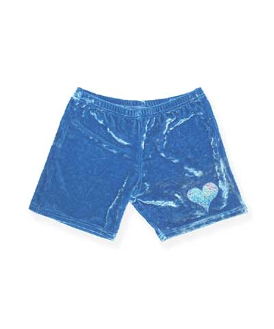 Heart Workout Pants-Aqua
