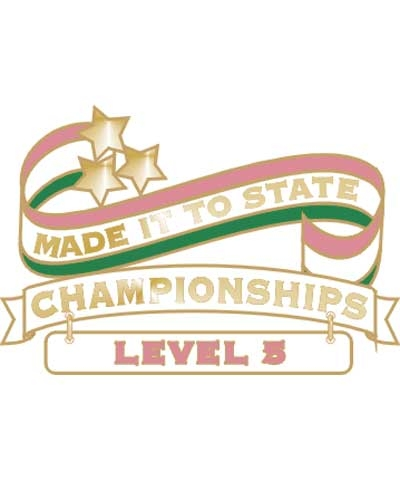 Level 5 Made It To State Pin