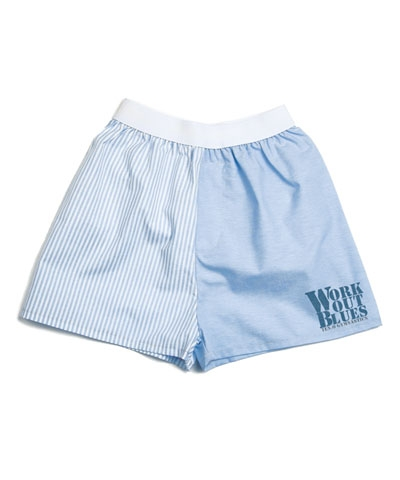 Work Out  Blues Boxers-Baby Blue