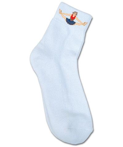 Cheerleader Cheer Sock FREE SHIPPING