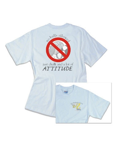It's A Girlzthing - No Balls Allowed Tee